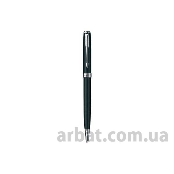 Ручка BP 84 431C Parker Sonnet Slim Matte Black CT  + Латунь