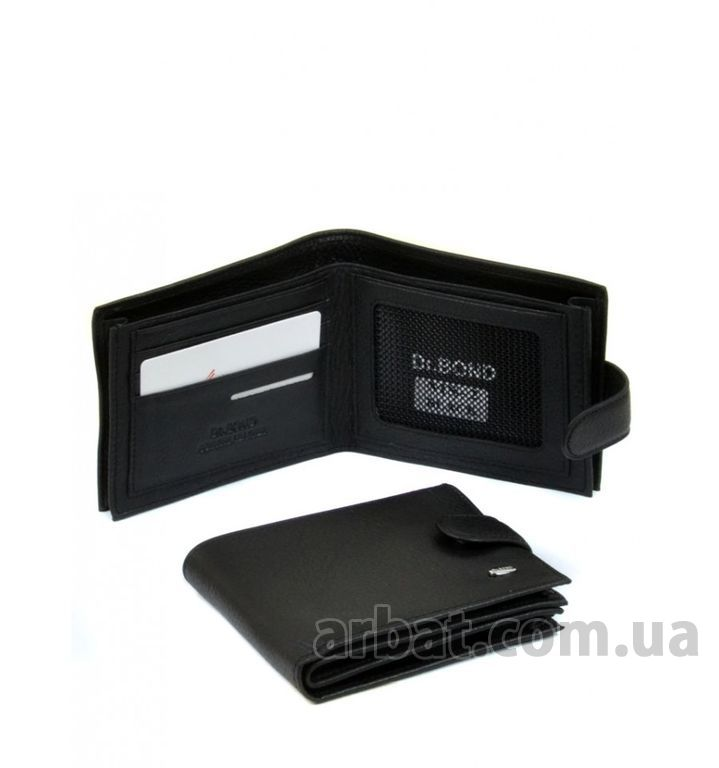 Кошелек* Classik кожа dr.Bond MS-2 black
