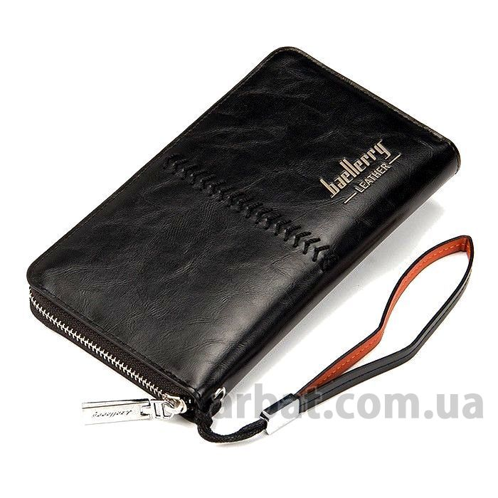 Портмоне* Baellerry Leather Черный