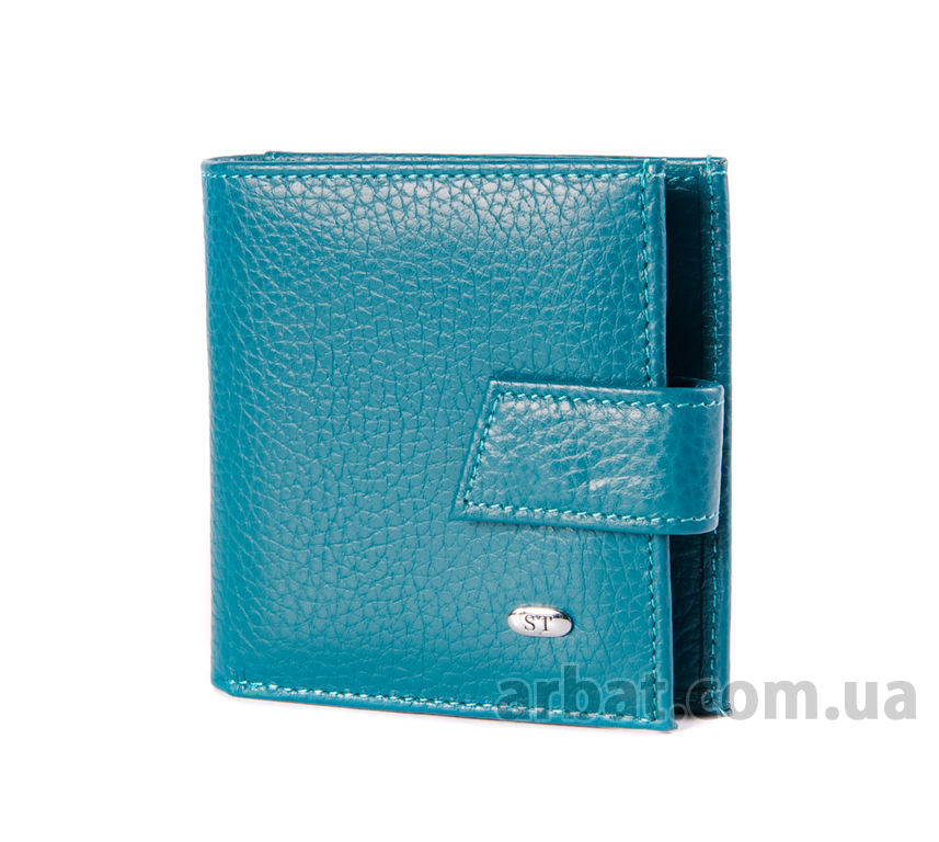 Кошелек ST 430* light blue кожа