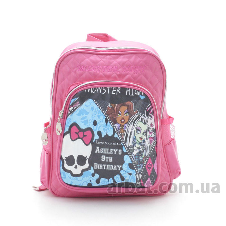 Рюкзак M-4043 «monster high» розовый