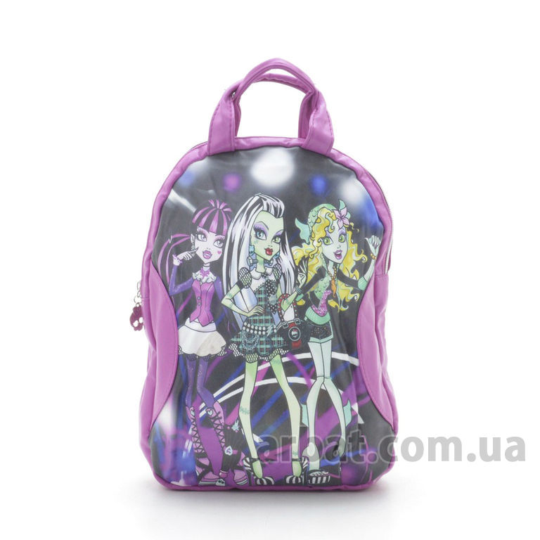 Рюкзак M-2268M «monster high» фиолетовый