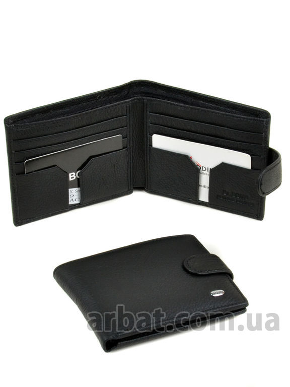 Кошелек Classik кожа DR. BOND M59-1 black
