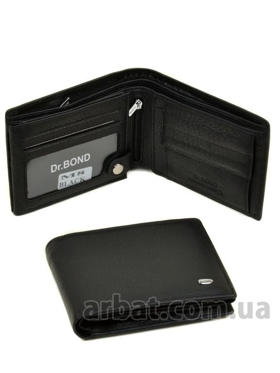 Кошелек Classik кожа DR. BOND M8 black