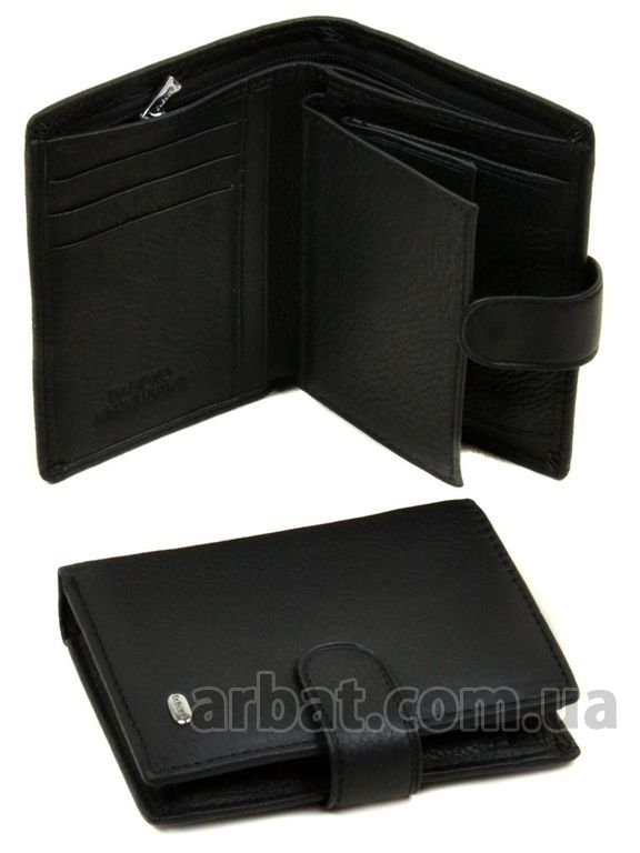 Кошелек Classik кожа DR. BOND M33 black