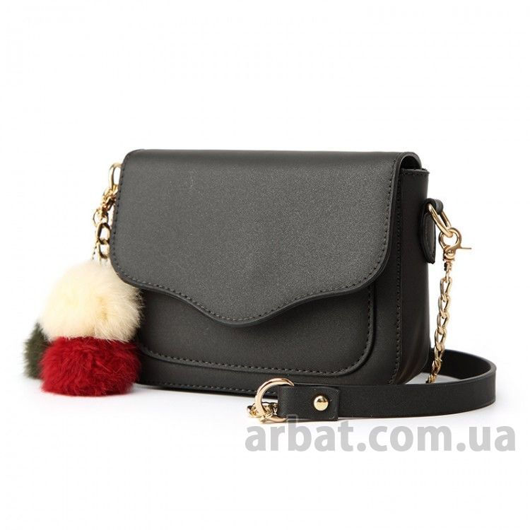 Клатч Hag Mini Black 6035