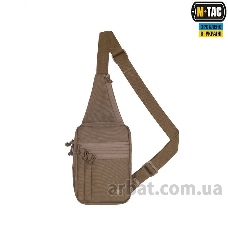 СУМКА-КОБУРА M-TAC 10035905 ELITE GEN.3 COYOTE хаки