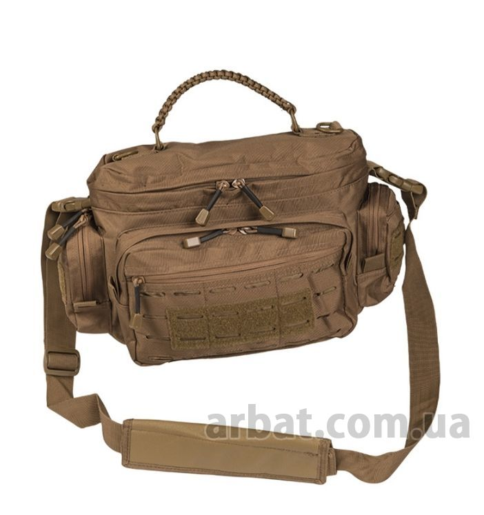 Сумка Милтек 13726119 TACTICAL PARACORD BAG SMALL DARK COYOTE