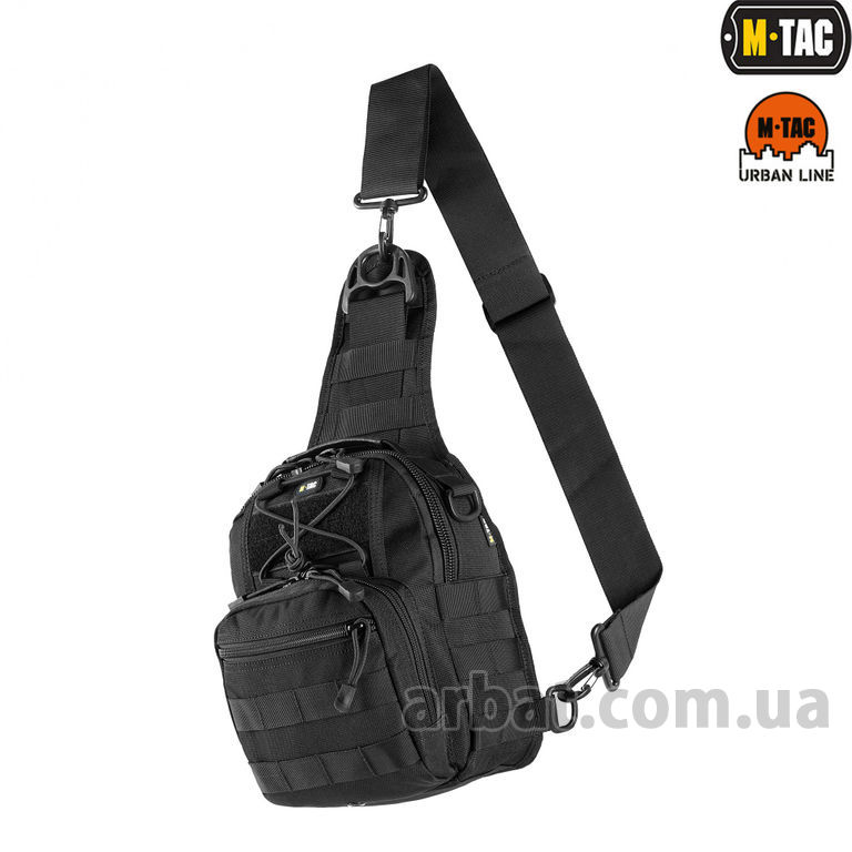 Сумка MTC-098-3-BK URBAN LINE CITY PATROL CARABINER BAG BLACK