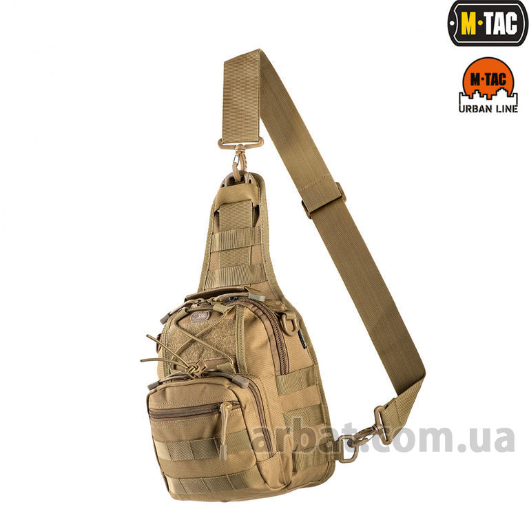 Сумка MTC-098-3-TN URBAN LINE CITY PATROL CARABINER BAG COYOTE