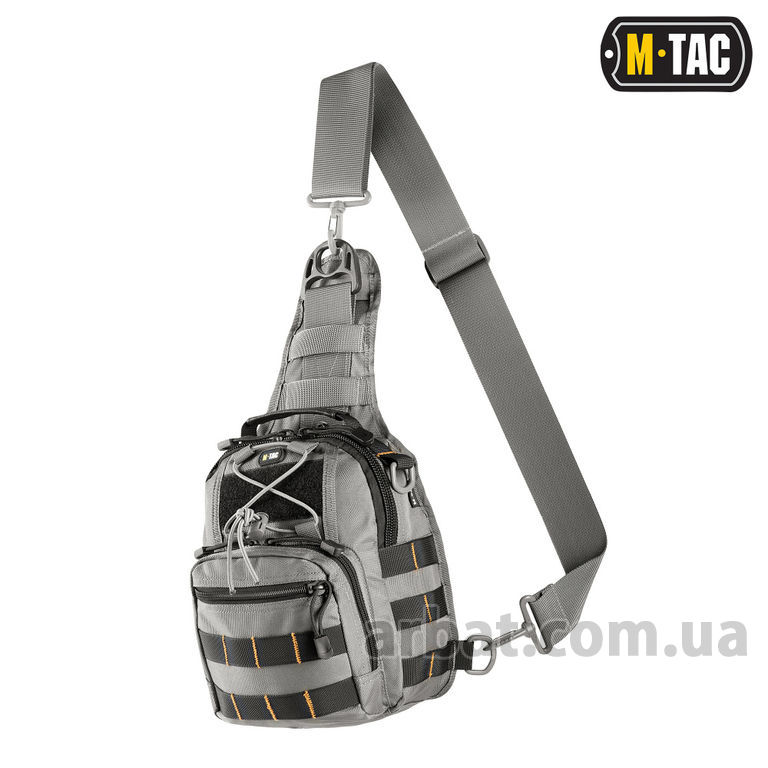 Сумка MTC-098-3-GR URBAN LINE CITY PATROL CARABINER BAG GREY