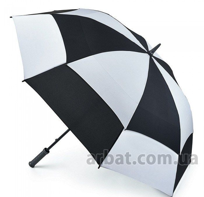 Зонт-гольфер Fulton S669 Stormshield Black / White
