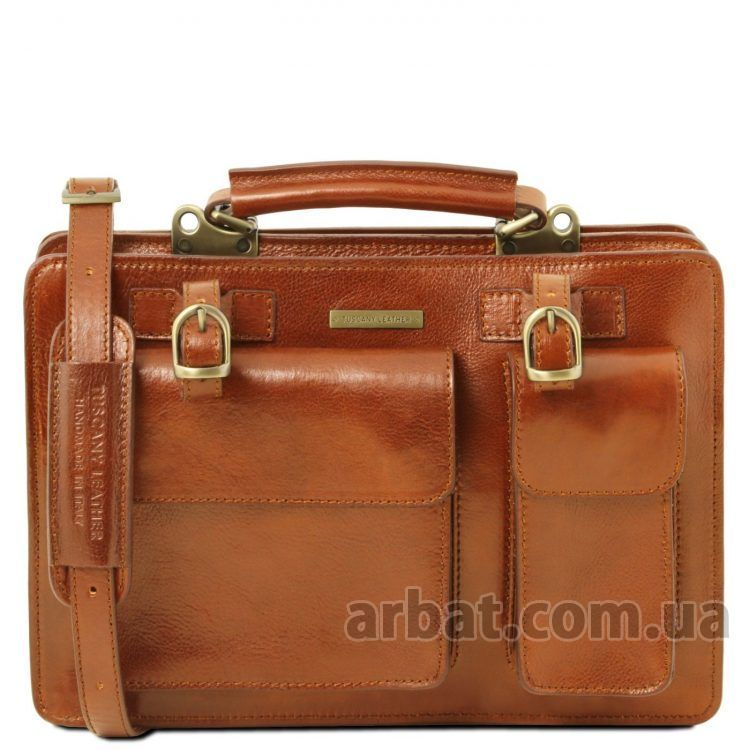 Портфель Tuscany Leather TL141269 Tania медовый кожа Италия