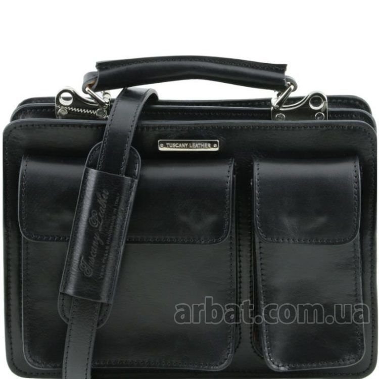 Портфель Tuscany Leather TL141270 Tania Mini черный кожа Италия