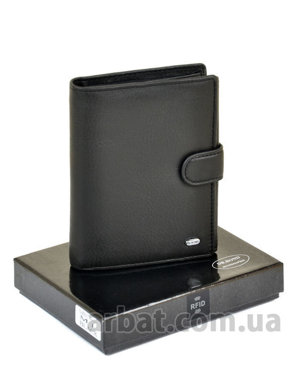 Кошелек Classic кожа DR. BOND RFID M1 black