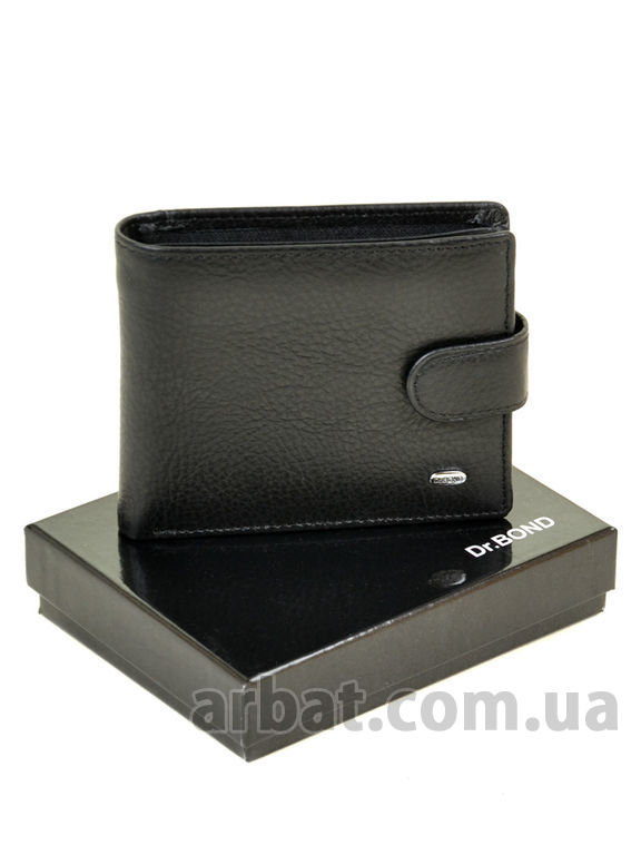 Кошелек Classic кожа DR. BOND M4 black