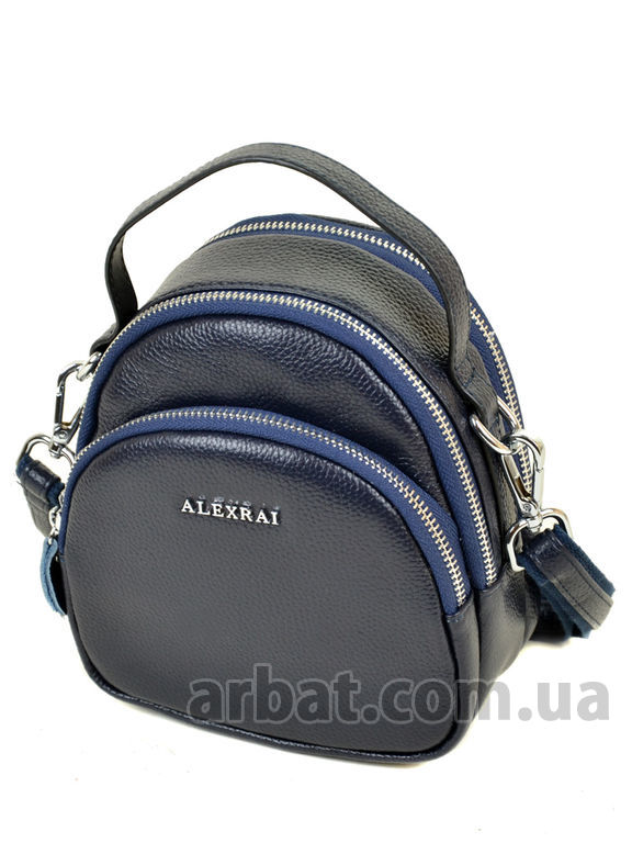 Сумка-клатч ALEX RAI 03-1 3905 blue кожа