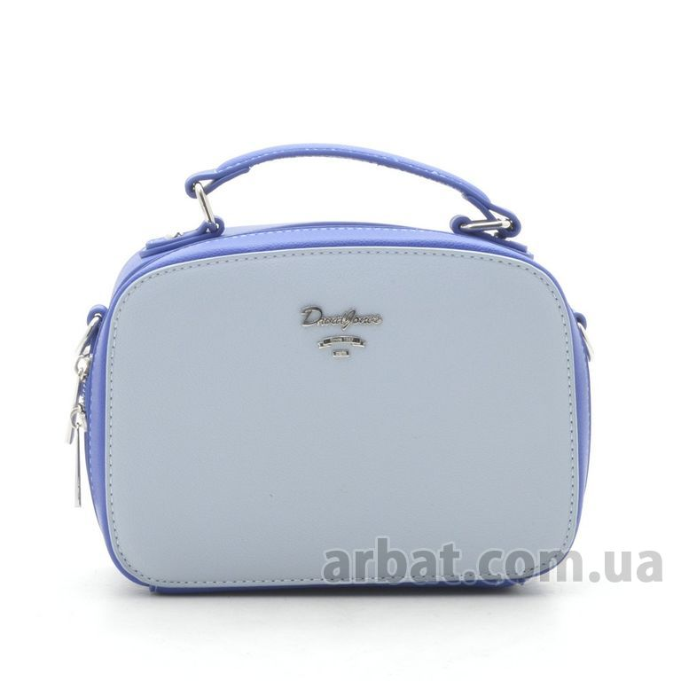 Клатч D. Jones CM5016 pale blue/blue