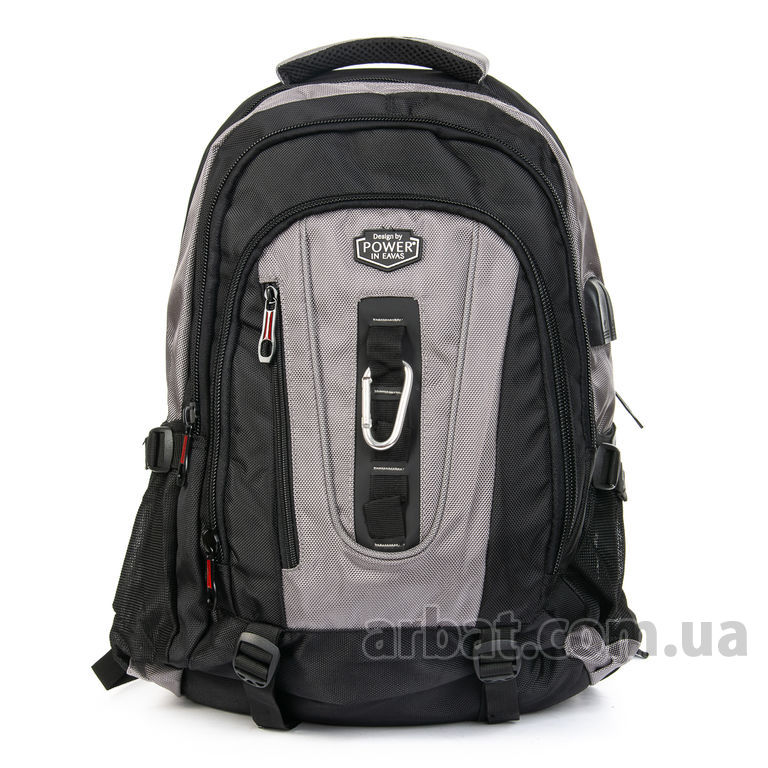 Рюкзак Power In Eavas 8215 grey