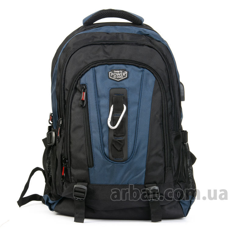 Рюкзак Power In Eavas 8215 black-blue