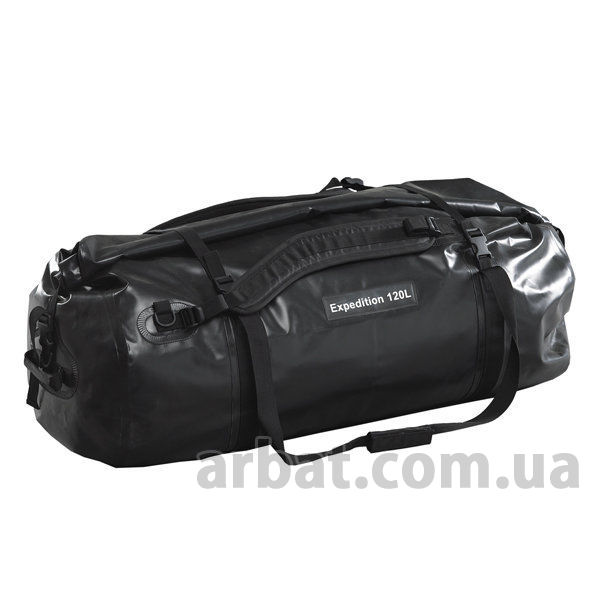 Сумка дорожная Caribee Expedition 120 WP Black  921296